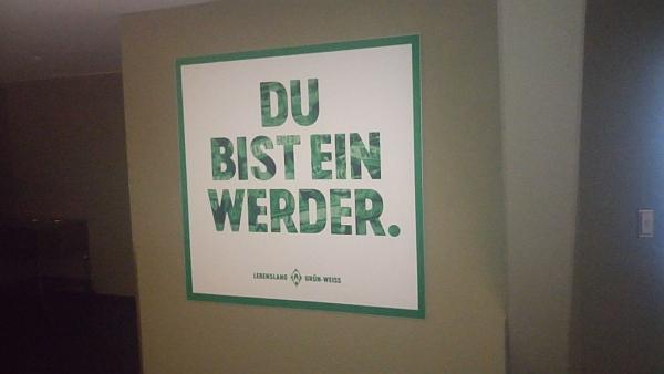 Plakat Du bist ein Werder