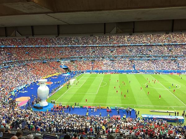 EM-Finale 2016 im Stade de France. Foto: Oliver Fritsch.