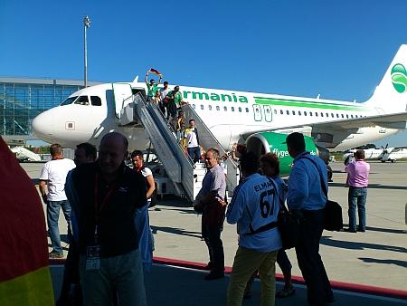 Mit der Fluglinie Germania auf den neuen Lviver Flughafen