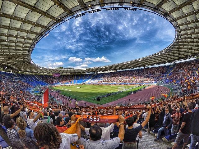 Francesco Totti spielte hier fast 20 Jahre seine Heimspiele mit AS Rom in der Serie A.