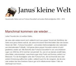Janus' kleine Welt