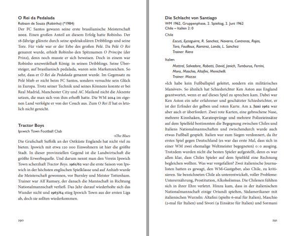 Blick ins Buch: Die Geschichte des Weltfußballs in Spitznamen