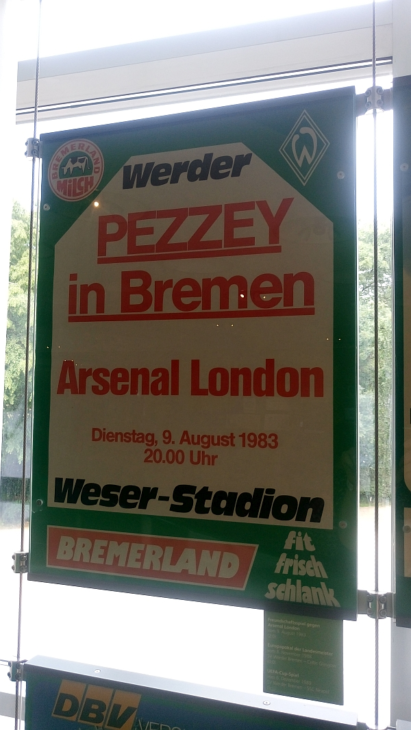Plakat Wuseum Pezzey in Bremen